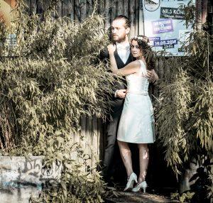 Brautpaarshooting modern Hochzeitsfotograf NRW