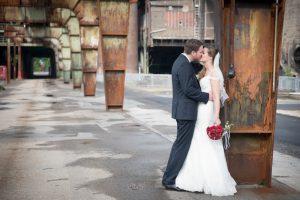 Brautpaarshooting industrial wedding Hochzeitsfotograf Ruhrpott
