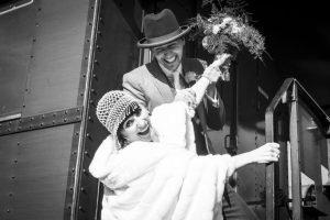 Hochzeitsstories Vintage Paarshooting modern Hochzeitsfotograf Köln